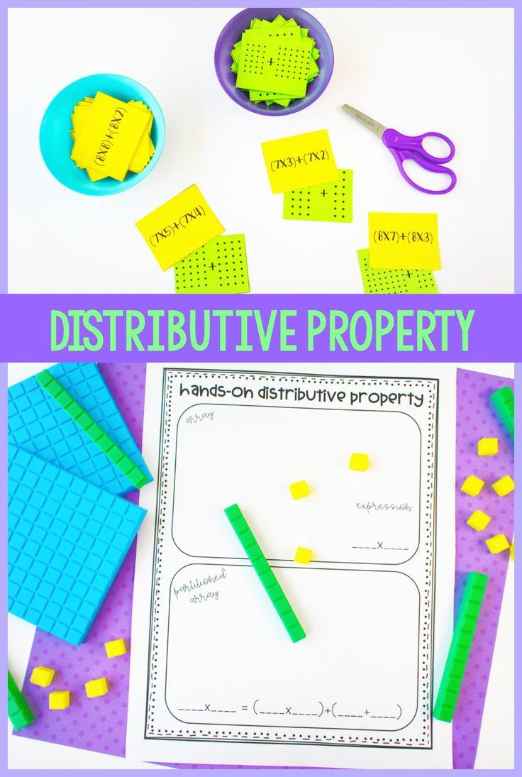 Introducing Multiplication Distributive property, 3rd