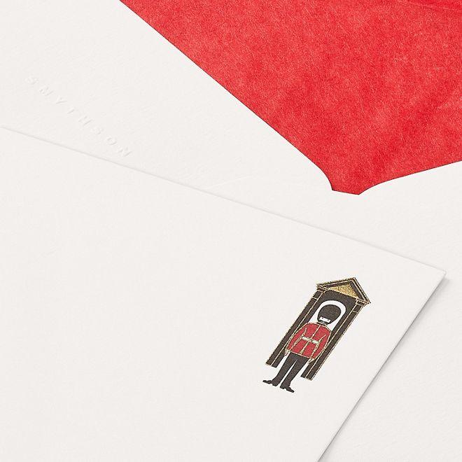 Royal Guard Correspondence Cards | Smythson