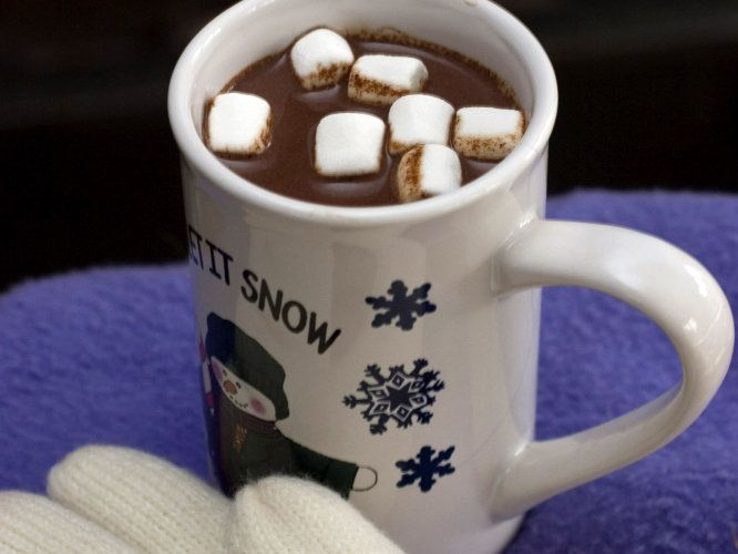 Presdient's Day: Have Hot Chocolate for breakfast like George Washington  did (according to historians).