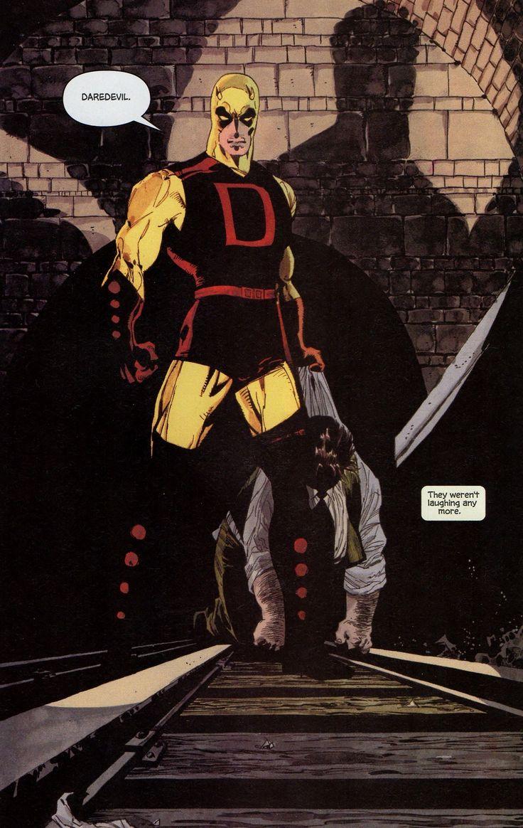 Daredevil Yellow Art By Tim Sale Daredevil Yellow