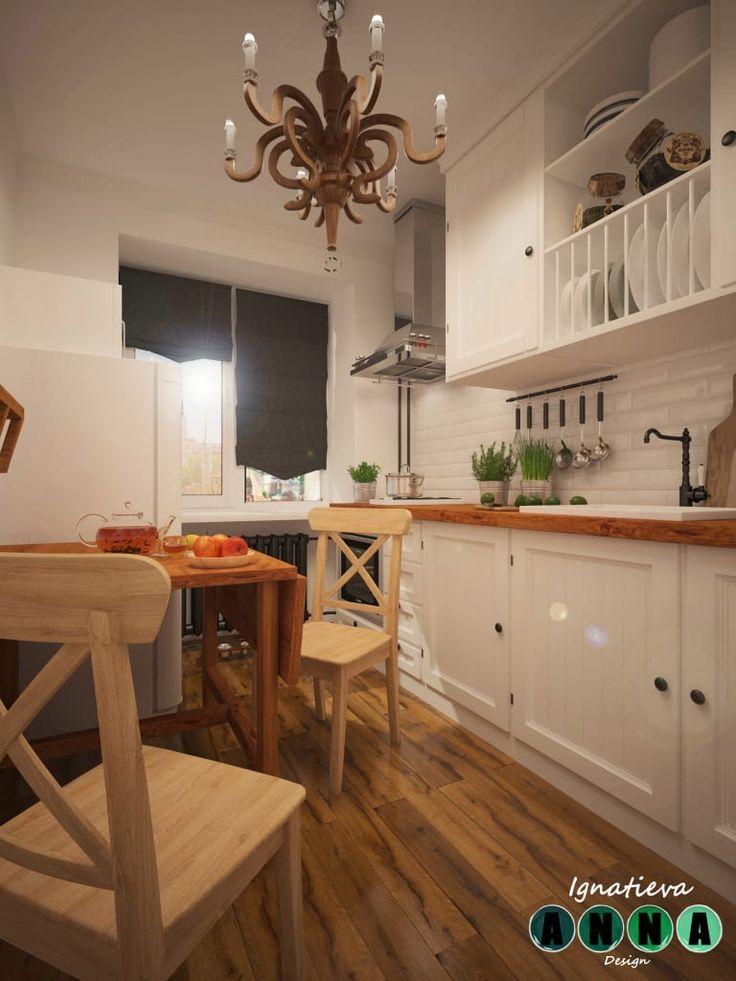 Browse images of  Кухни designs: Уютная кухня в обычном панельном многоэтажном доме. Find the best photos for ideas & inspiration to create your perfect home.