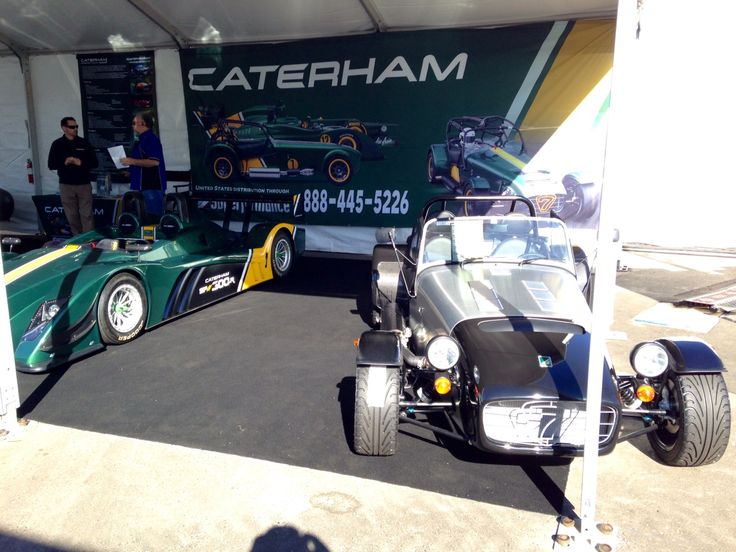 Caterham at Barrett Jackson! These beauties will be distributed to the US through Superformance and Hillbank has been chosen as one of their dealerships!