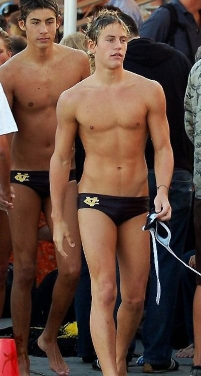 from Caleb gay swim club