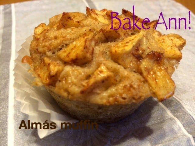 bake! Ann: Almás muffin