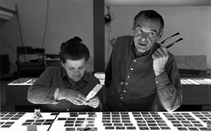 Ray and Charles Eames spawned some of the most recognisable architecture and design works of the 20th-century, including the Time-Life Stools and the Eames Sofa, which became widely-coveted furnishings for any Modernist space.