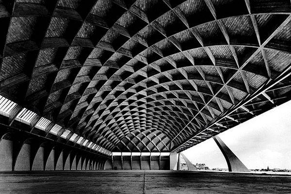 Pier Luigi Nervi Ingenieurbaukunst Architektur