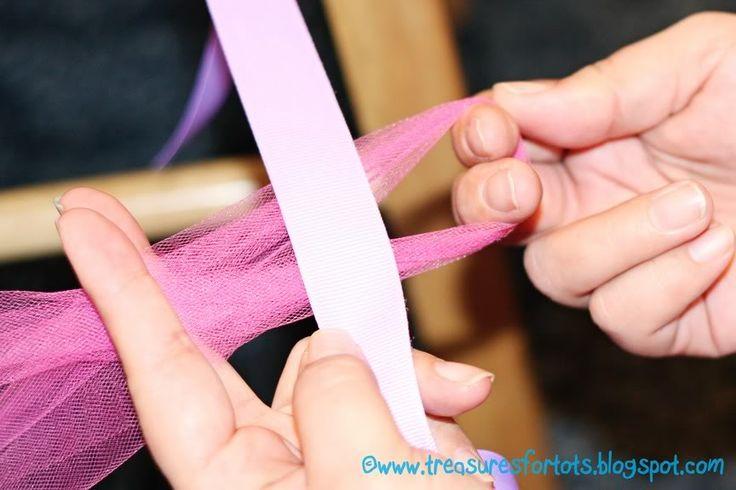 treasures for tots: HOW-TO Make a NO-SEW Tutu