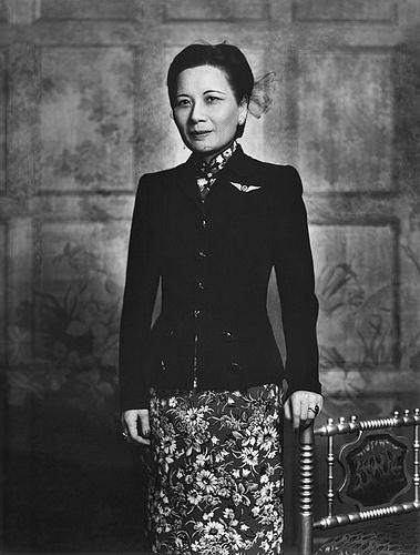 Soong Mei-Ling (Madame Chiang Kai-shek) 1943