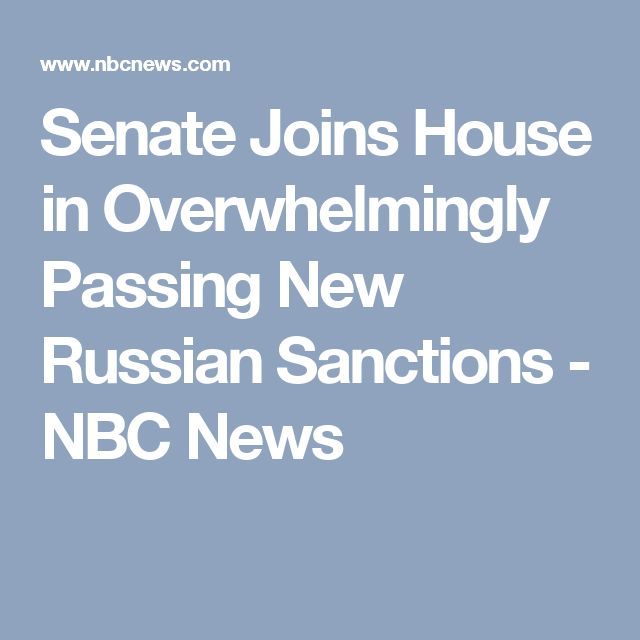 07/27/17 | Putin-lovers Bernie Sanders (I) Vermont & Rand Paul (R) Kentucky the only 2 to vote No. | Senate Joins House in Overwhelmingly Passing New Russian Sanctions - NBC News