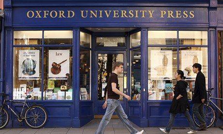 The Oxford University Press bookshop. Photograph: Oli Scarff/Getty Images