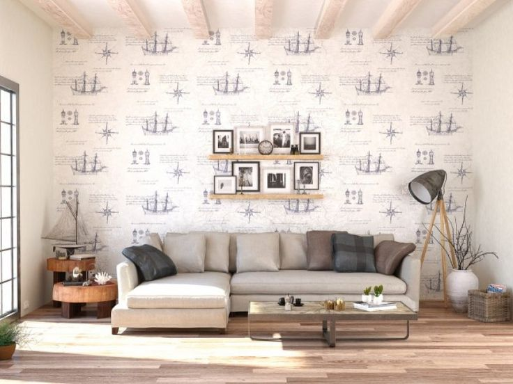 15 besten Tapeten Bilder auf Pinterest Tapeten, Farben und Einfach - tapeten wohnzimmer ideen