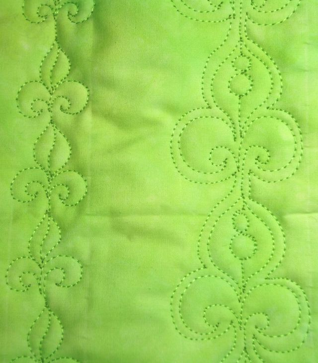 Today is Tuesday and it is time for another free motion quilting tutorial! Today we will be working on the classic Fleur-de-lis (or lily flower) motif. We have two motifs today: The Basic Fleur-...
