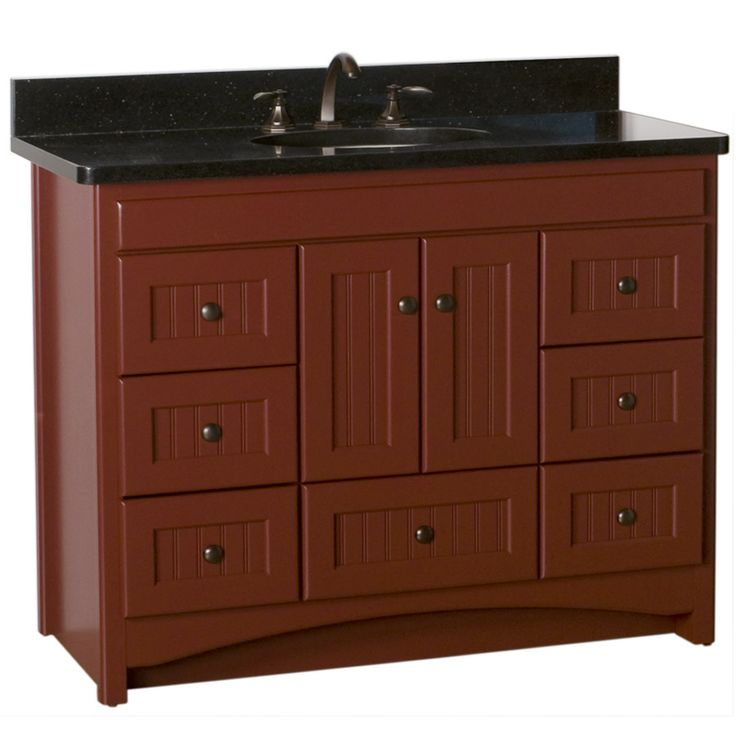 """Farm Style Bathroom Vanity 42 
