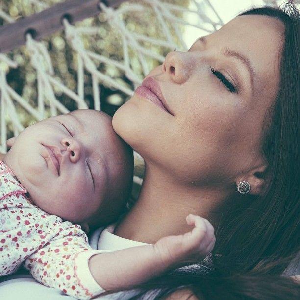 Tammin Sursok and her baby Pheonix