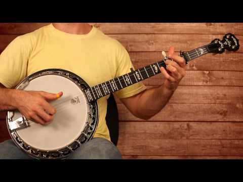 "▶ The Soggy Bottom Boys ""I Am A Man Of Constant Sorrow"" Banjo Lesson (With Tab) - YouTube"