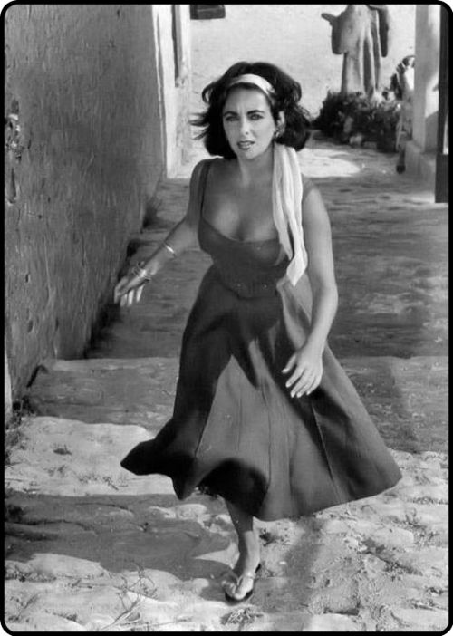 "Miss Elizabeth Taylor...a bit of trivia: she HATED being called ""Liz"""