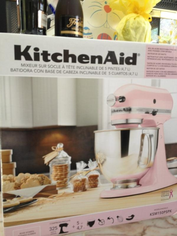 Look what was in @wineeveryday 's Easter Basket! @kitchenaid_usa #SundaySupper