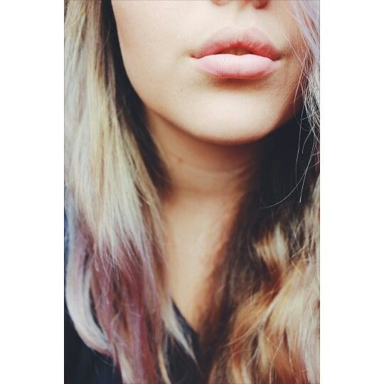Purple hair, why? For fun✌