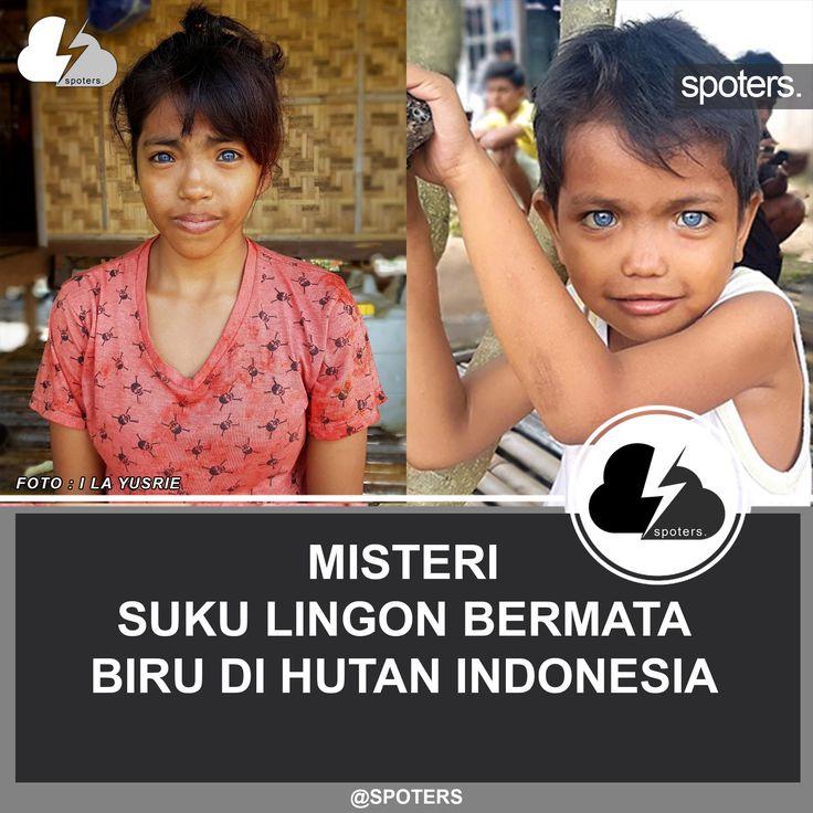 Jauh sebelum Bangsa Indonesia mereka, ada satu suku unik di Halmahera Selatan, yaitu suku Lingon. Suku ini mempunyai keunikan jika dibanding dengan mayoritas suku yang ada di Indonesia yaitu berkulit putih, tubuh besar, rambut pirang dan bermata biru seperti orang eropa.