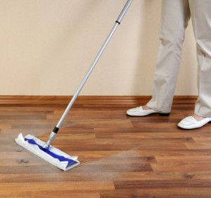 If you've recently had some renovations done, then you know that lots of drywall dust can be created. And no matter how many times you clean your American Concepts #laminatefloor, it can dry with white streaks.