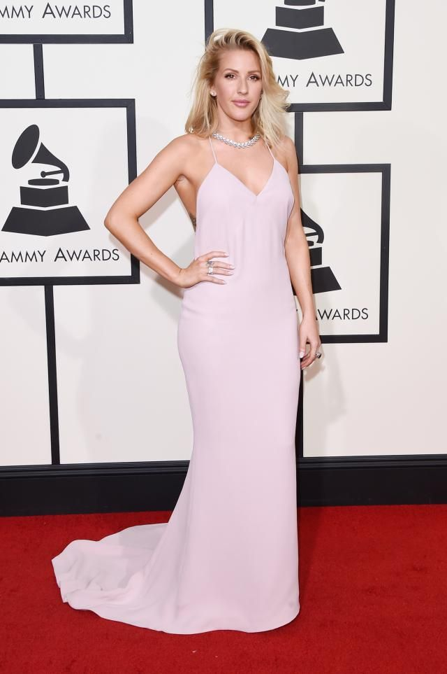 Most Talked About Red Carpet Looks of the 2016 Grammy Awards: Ellie Goulding