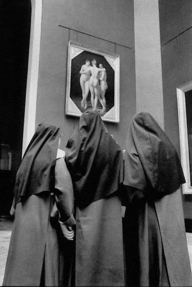 Mario Giacomelli [don't forget your three graces]