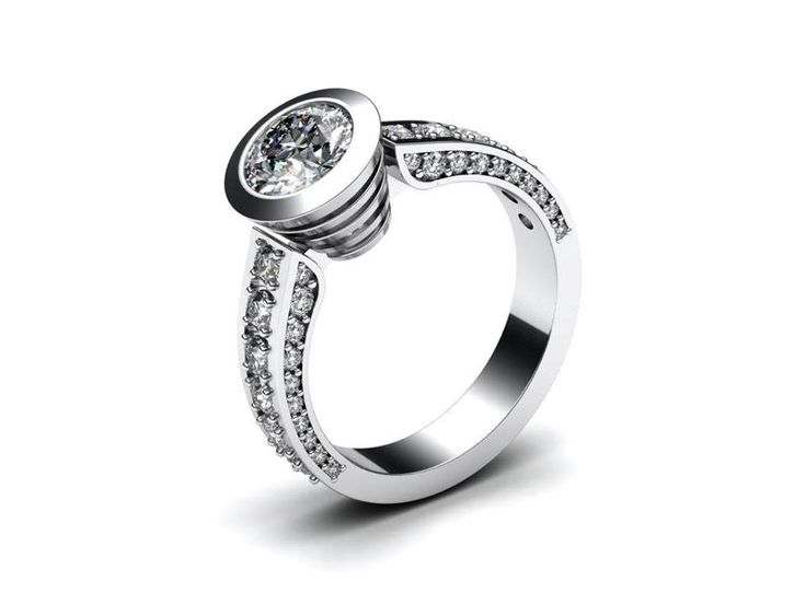 Nový zásnubní prsten z připravované kolekce.