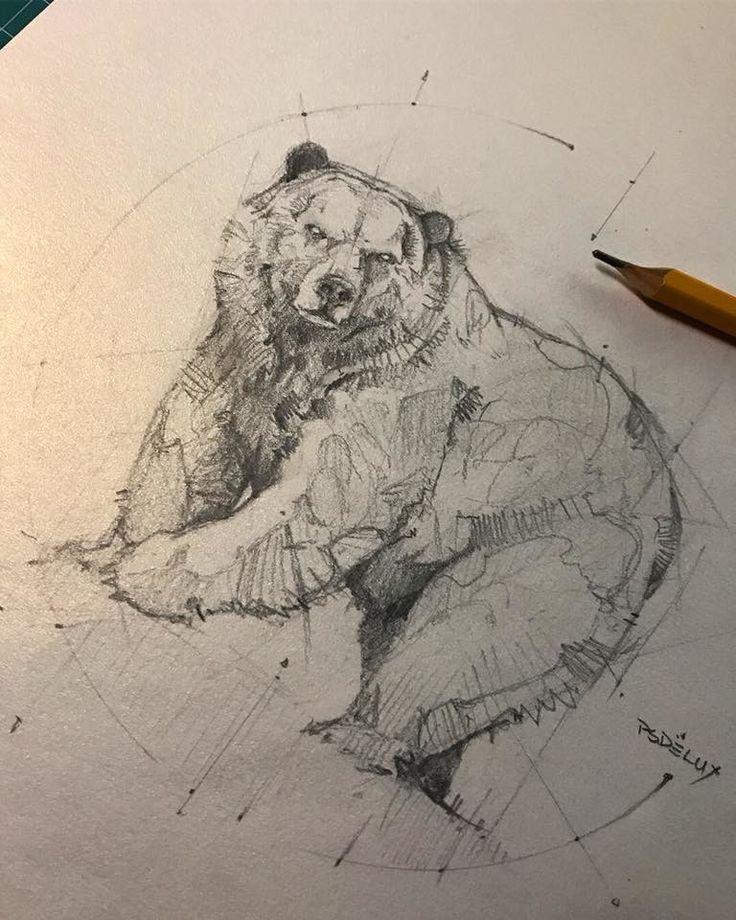 ArtStation – frog, lion cranium, bear, gorilla, psdelux …