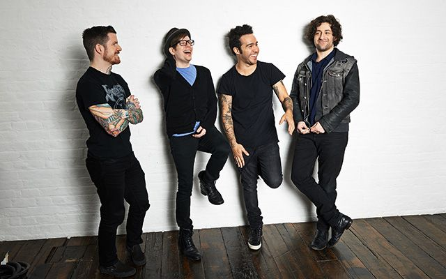GUYS FALL OUT BOY JUST PERFORMED ON THE BBMAS AND I RAN DOWNSTAIRS AND JUMPED AROUND THE HOUSE AND SQUEALED AFTER THEY WERE ON HELP THEY WERE AWESOME (sorry I'm just still shocked that they are really back and I can't believe how far they've come and I'm so proud)
