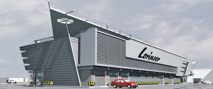 «Lorinser- Neva» Car Dealership & Service Center - Проекты домов и коттеджей.