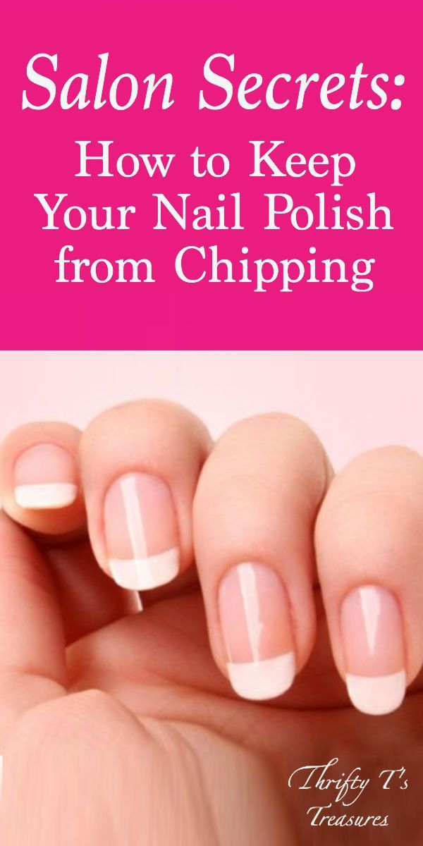 Salon Secrets: How to Keep Your Nail Polish from Chipping