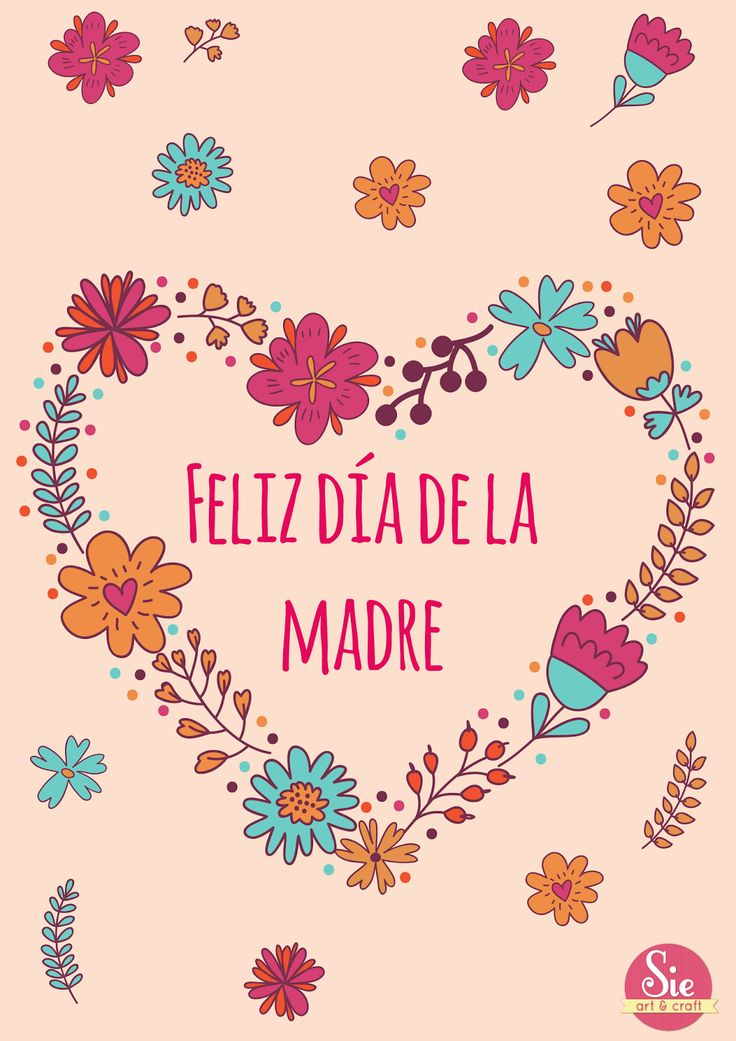 Feliz día mamá ♥
