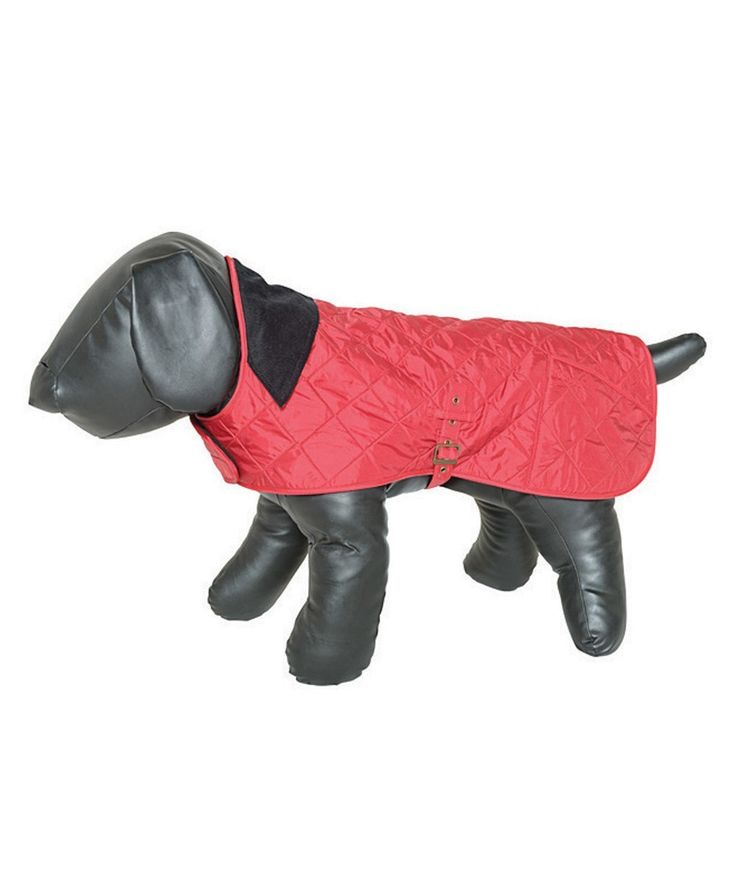 Barbour Liddesdale Dog Coat - bright cherry red!