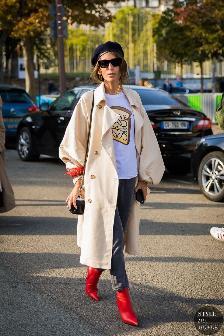 Paris SS 2018 Street Style: Chloe Harrouche (STYLE DU MONDE)