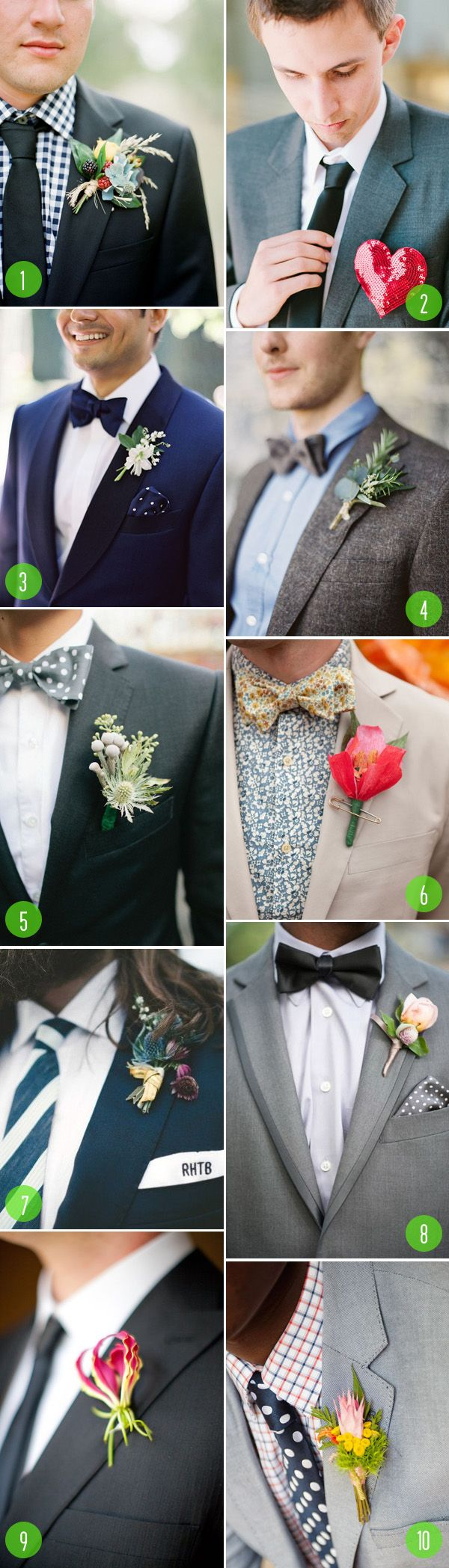 Share Tweet + 1 Mail 1. via Grey Likes Weddings | 2. via Wedding Chicks | 3. via 100 Layer Cake | 4. via ...