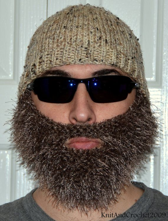 Knitting Patterns By Needle Size : 1000+ ideas about Beard Hat on Pinterest Crochet beard, Crochet beard hat a...