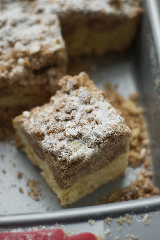 German Crumb Cake, Cake Boss Style | heatherlikesfood.com