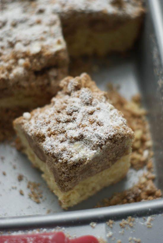 German Crumb Cake, Cake Boss Style | heatherlikesfood.com