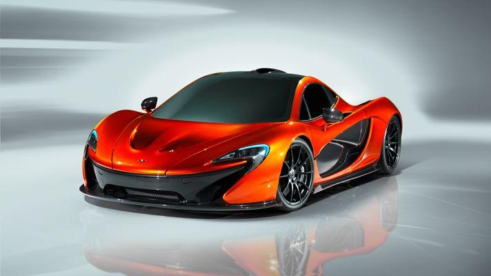 New McLaren P1, the F1's first official successor.