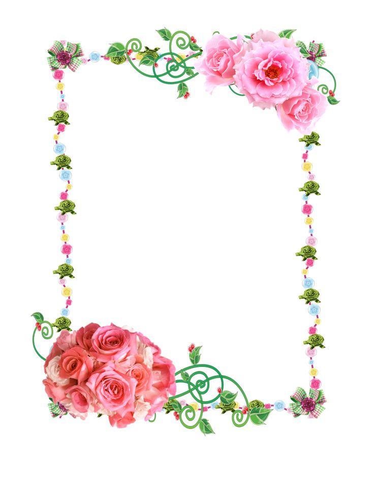 """""""Frame PNG with Roses"""" by Melissa-tm.deviantart.com on @DeviantArt"""