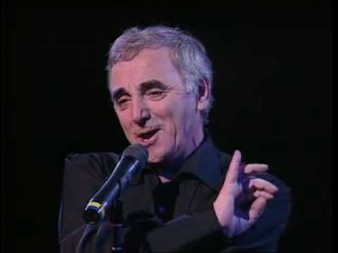 ▶ Charles Aznavour - COMME ILS DISENT 1991 - YouTube