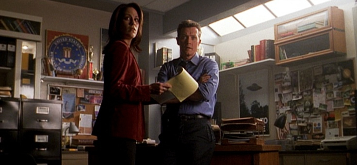 The X-Files had Mulder & Scully ... AND Monica Reyes & John Doggett (Annabeth Gish & Robert Patrick). Loved their chemistry, they were genuinely sweet.  http://4.bp.blogspot.com/_0vQepF4TXY0/TL8IWSXN46I/AAAAAAAAH6I/tTka9bvP_ms/s1600/Reyes+&+Doggett.png