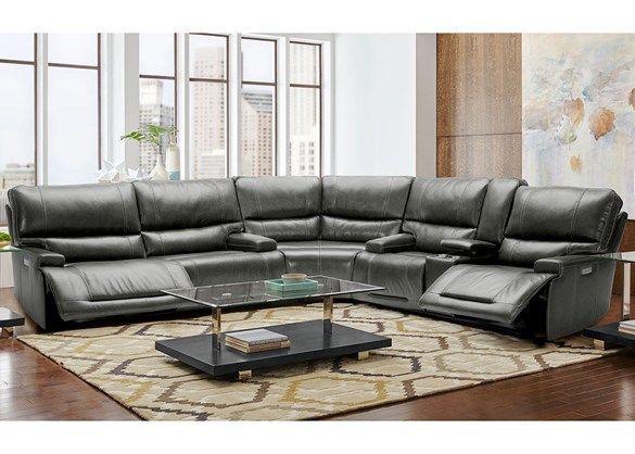 Cool Clio 3 Pc Power Sectional Basement Sofas Couch Set Ncnpc Chair Design For Home Ncnpcorg