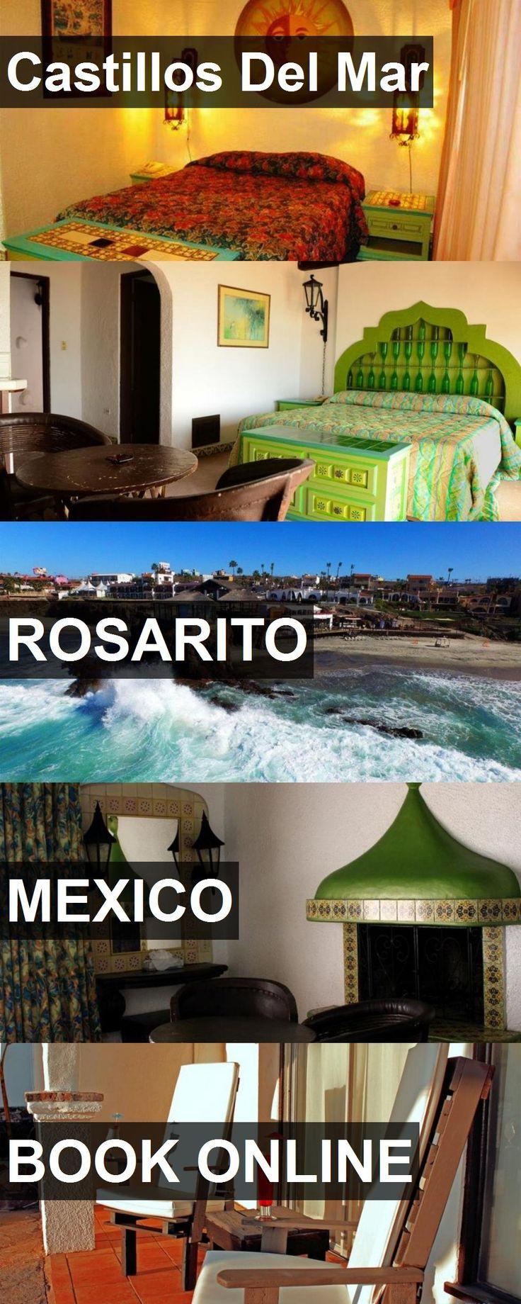 Hotel Castillos Del Mar in Rosarito, Mexico. For more information, photos, reviews and best prices please follow the link. #Mexico #Rosarito #CastillosDelMar #hotel #travel #vacation