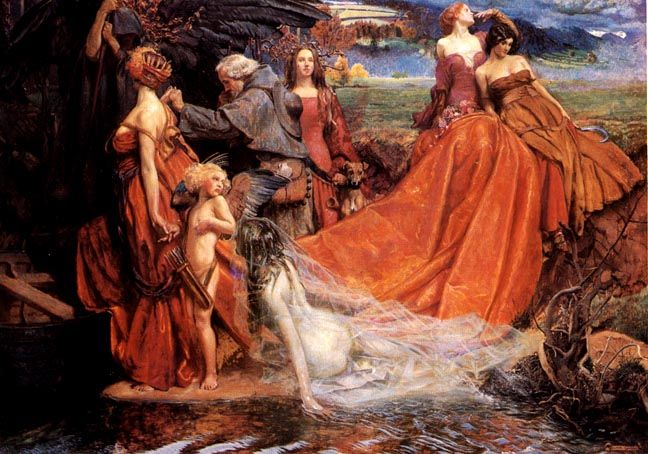 Now Is the Pilgrim Year John Byam Liston Shaw (13 November 1872 – 26 January 1919), commonly known as Byam Shaw, was an Indian-born British painter, illustrator, designer and teacher.