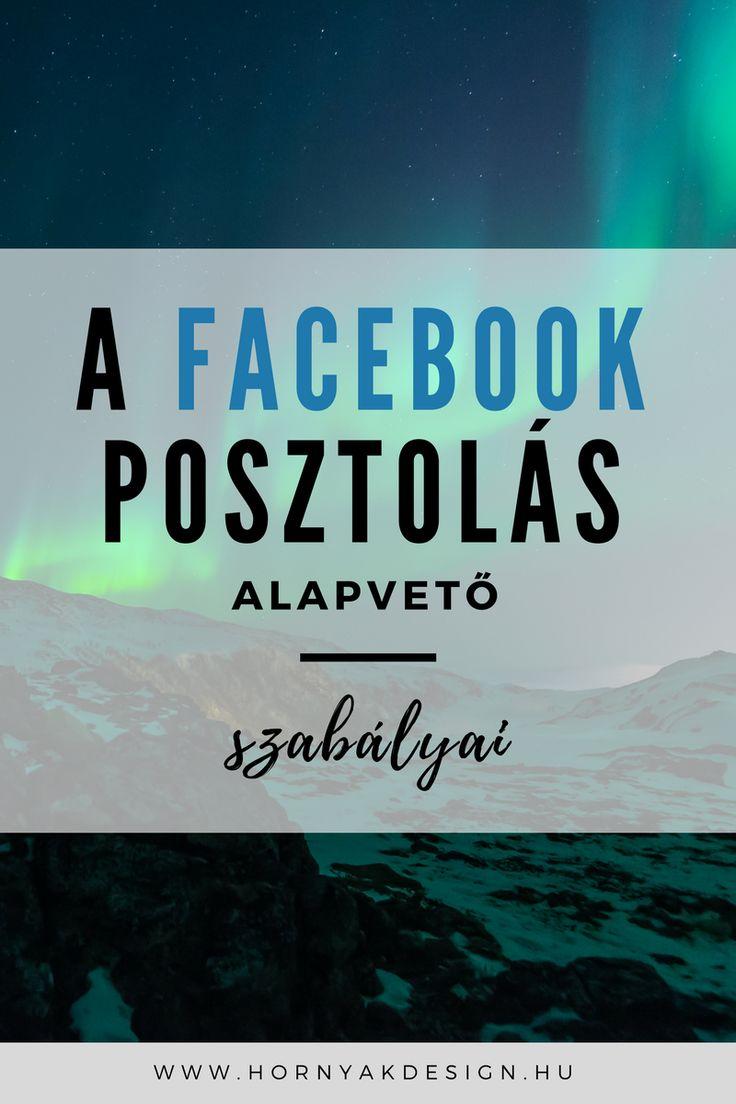 A facebook posztolás alapvető szabályai