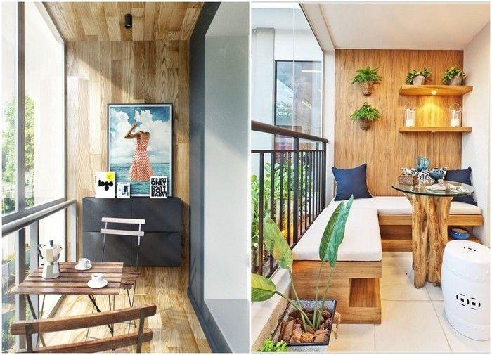 Как обустроить маленький балкон: 18 идей – Вдохновение