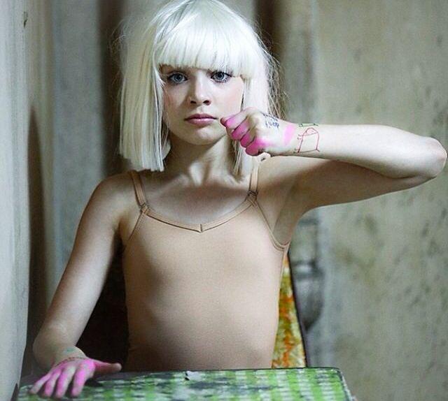 Maddie Ziegler in sia's chandelier video