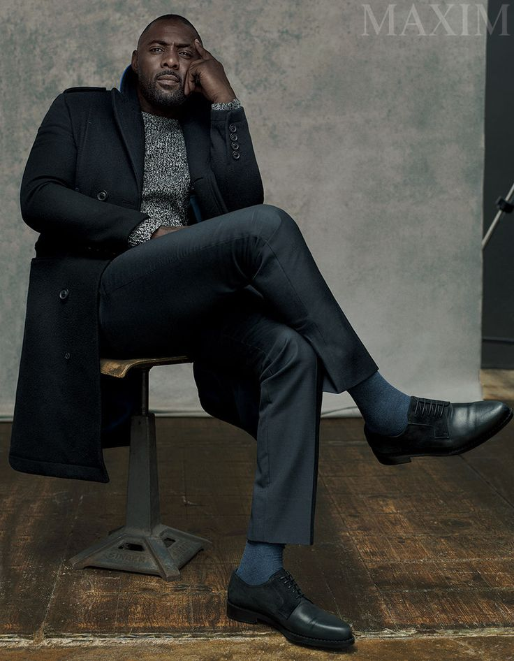 Idris Elba Is the First Man to Cover Maxim