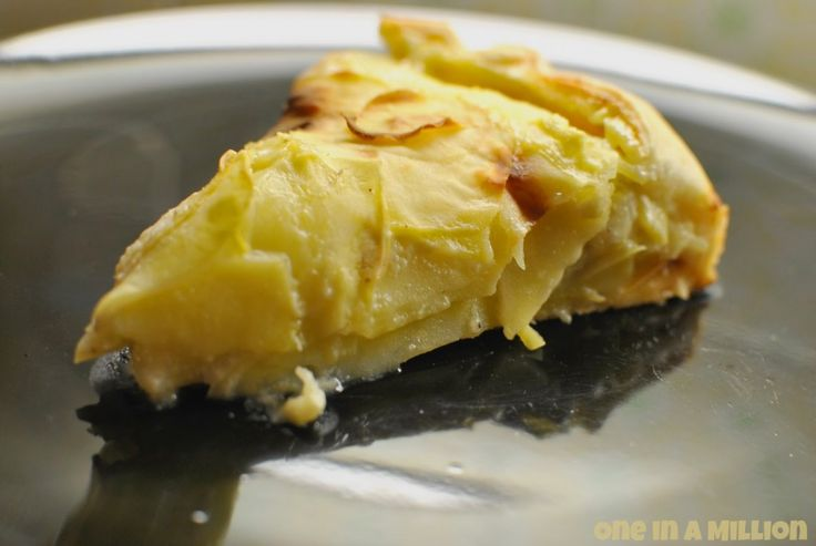 Torta millestrati di patate e carciofi